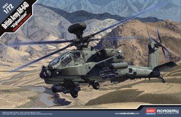 AH-64D Royal Army - Afghanistan · AY 12537 ·  Academy Plastic Model · 1:72