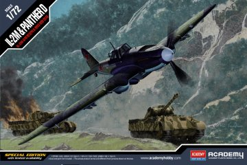 IL-2m & PANTHER D - Limited Edition · AY 12538 ·  Academy Plastic Model · 1:72