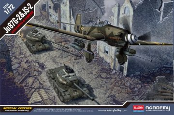 Junkers Ju 87G-2 & JS-2 - Limited Edition · AY 12539 ·  Academy Plastic Model · 1:72