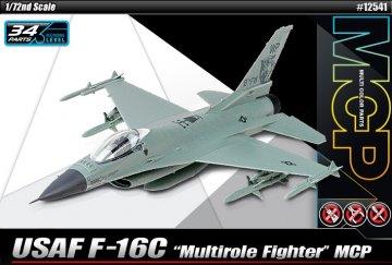 USAF F-16C Multirole Fighter (MCP) · AY 12541 ·  Academy Plastic Model · 1:72