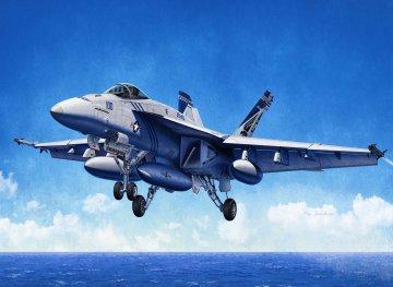 USN F/A-18E  - VFA-143 Pukin Dogs · AY 12547 ·  Academy Plastic Model · 1:72