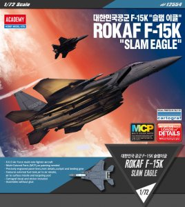 ROKAF F-15K SLAM Eagle (MCP) · AY 12554 ·  Academy Plastic Model · 1:72