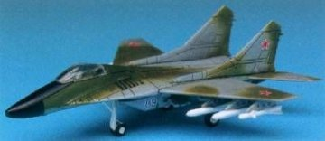 MiG-29 · AY 12615 ·  Academy Plastic Model · 1:144