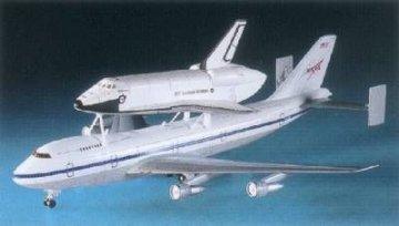 Space Shuttle + Jumbo 747 · AY 12708 ·  Academy Plastic Model · 1:288