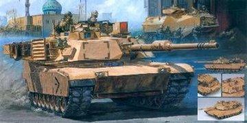 M1A1 Iraq Version · AY 13202 ·  Academy Plastic Model · 1:35