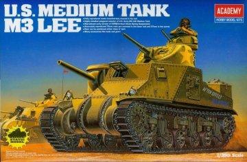 U.S.Medium Tank M3 Lee · AY 13206 ·  Academy Plastic Model · 1:35