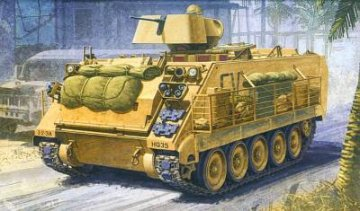 M113A3 Iraq 2003 · AY 13211 ·  Academy Plastic Model · 1:35
