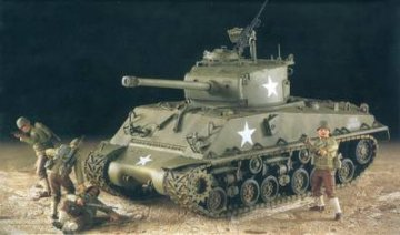 U.S. Army M4A3E8 `Easyeight` · AY 13221 ·  Academy Plastic Model · 1:35
