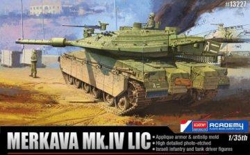 IDF MBT MERKARVA MK IV LIC · AY 13227 ·  Academy Plastic Model · 1:35