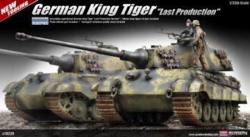 King Tiger · AY 13229 ·  Academy Plastic Model · 1:35