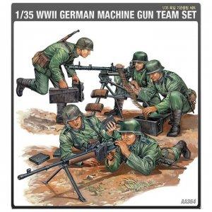 German MG Crew · AY 13259 ·  Academy Plastic Model · 1:35