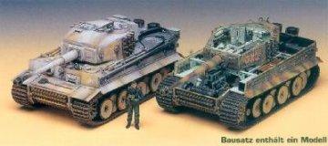 Tiger I (Mittl. m. Inneneinrichtung) · AY 13265 ·  Academy Plastic Model · 1:35