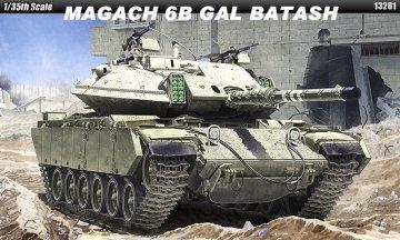 IDF Magach 6B Gal Batash · AY 13281 ·  Academy Plastic Model · 1:35
