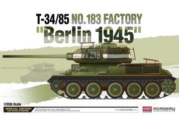 T-34/85 No.183 Factory ´Berlin 1945´ · AY 13295 ·  Academy Plastic Model · 1:35