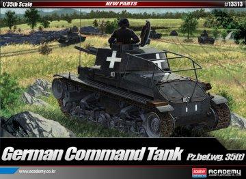 Pz.Bef.Wg. 35 (t) Command Tank · AY 13313 ·  Academy Plastic Model · 1:35