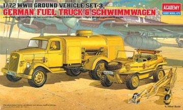 Opel Tankwagen · AY 13401 ·  Academy Plastic Model · 1:72