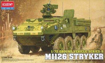 M1126 Stryker · AY 13411 ·  Academy Plastic Model · 1:72