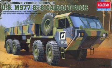 U.S. M977 8x8 Cargo Truck · AY 13412 ·  Academy Plastic Model · 1:72