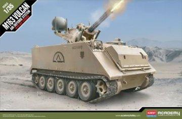 U.S.Army M163 Vulcan New · AY 13507 ·  Academy Plastic Model · 1:35
