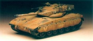 IDF Merkava II + Aetzset · AY 1351 ·  Academy Plastic Model · 1:35