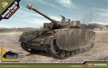 German Pz.Kpfw IV Ausf.H [Ver. MID] · AY 13516 ·  Academy Plastic Model · 1:35
