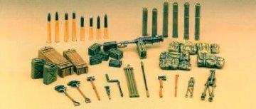 Zubehoersatz I fuer WWII · AY 1382 ·  Academy Plastic Model · 1:35