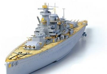 Graf Spee Premium Version (LIMITED) · AY 14104 ·  Academy Plastic Model · 1:350