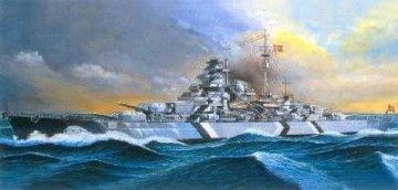 Bismarck (mot.) · AY 14208 ·  Academy Plastic Model · 1:800