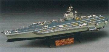 CVN 69D Eisenhower · AY 14212 ·  Academy Plastic Model · 1:800