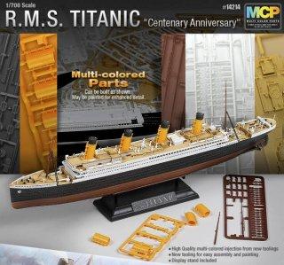 RMS Titanic - Centenary Anniversary · AY 14214 ·  Academy Plastic Model · 1:700