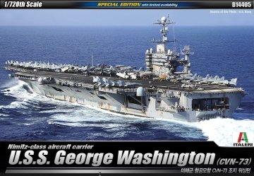 USS GEORGE WASHINGTON · AY 14405 ·  Academy Plastic Model · 1:720