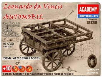 LEONARDO DA VINCI AUTO · AY 18129 ·  Academy Plastic Model