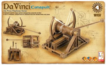 DA VINCI CATAPULT · AY 18137 ·  Academy Plastic Model