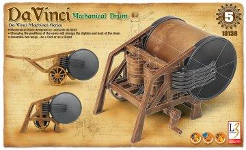 DA VINCI DRUM · AY 18138 ·  Academy Plastic Model