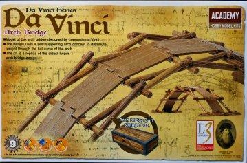 Da Vinci Arch Bridge · AY 18153 ·  Academy Plastic Model