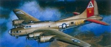 B-17 Flying Fortress · AY 2102 ·  Academy Plastic Model · 1:240