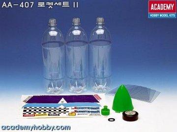 Ersatzflaschen Set zu 18101 · AY AA407 ·  Academy Plastic Model