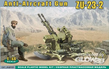 ZU-23-2 AA Ant-aircraft gun · ACE 48101 ·  ACE · 1:48