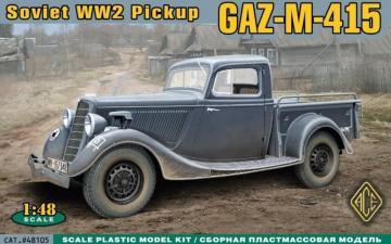 WWII Soviet pick-up GAZ-M-415 · ACE 48105 ·  ACE · 1:48