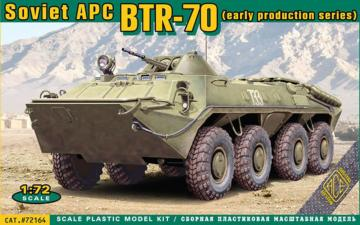 BTR-70 Soviet armored personnel carrier, · ACE 72164 ·  ACE · 1:72