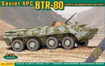 BTR-80 Soviet armored personnel carrier, early prod. · ACE 72171 ·  ACE · 1:72