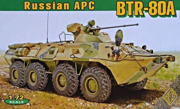 BTR-80A Soviet armored  personnel carrie · ACE 72172 ·  ACE · 1:72