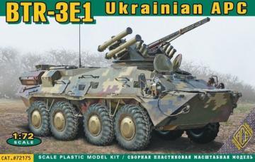 BTR-3E1 Ukrainian armored personnel carr · ACE 72175 ·  ACE · 1:72