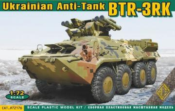 BTR-3RK Ukrainian anti-tank vehicle · ACE 72176 ·  ACE · 1:72