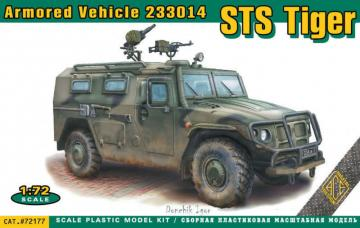 STS Tiger 233014 armored vehicle · ACE 72177 ·  ACE · 1:72