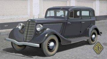 GAZ-M1 ´´Emka´ WWII Soviet Car · ACE 72211 ·  ACE · 1:72