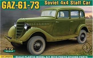 GAZ-61-73 4x4 Soviet Staff Car · ACE 72213 ·  ACE · 1:72