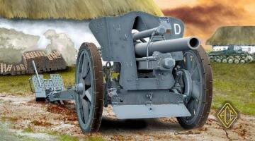 German le FH18 10,5 cm Field Howitzer · ACE 72216 ·  ACE · 1:72