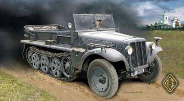 Sd.Kfz.10 (leichter Zugkraftwagen 1t Typ D7) · ACE 72225 ·  ACE · 1:72