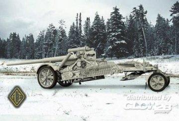 17cm Kanone 18 in Mörserlafette (Matterhorn) · ACE 72229 ·  ACE · 1:72